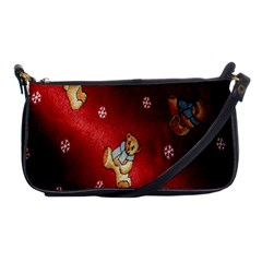 Background Fabric Shoulder Clutch Bags