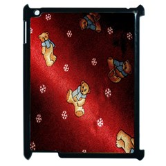 Background Fabric Apple iPad 2 Case (Black)