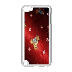 Background Fabric Apple iPod Touch 5 Case (White)