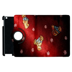 Background Fabric Apple Ipad 3/4 Flip 360 Case