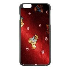Background Fabric Apple iPhone 6 Plus/6S Plus Black Enamel Case