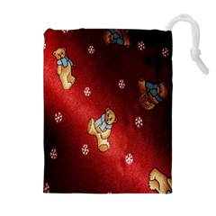 Background Fabric Drawstring Pouches (Extra Large)