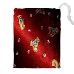 Background Fabric Drawstring Pouches (xxl)