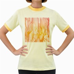 Background Modern Computer Design Women s Fitted Ringer T-Shirts
