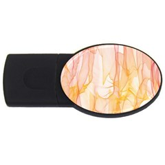 Background Modern Computer Design USB Flash Drive Oval (2 GB)