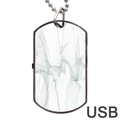 Background Modern Computer Design Dog Tag USB Flash (Two Sides)