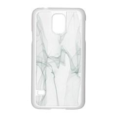 Background Modern Computer Design Samsung Galaxy S5 Case (White)