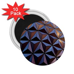 Background Geometric Shapes 2.25  Magnets (10 pack)