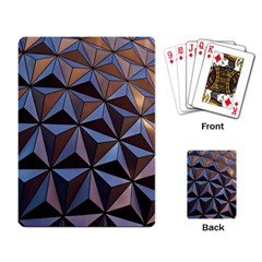 Background Geometric Shapes Playing Card