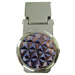 Background Geometric Shapes Money Clip Watches