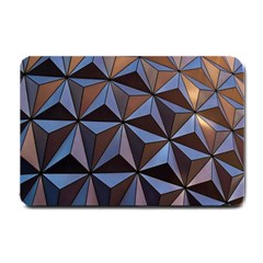 Background Geometric Shapes Small Doormat
