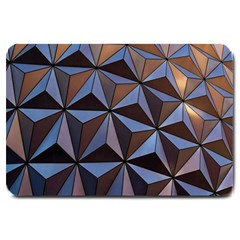 Background Geometric Shapes Large Doormat
