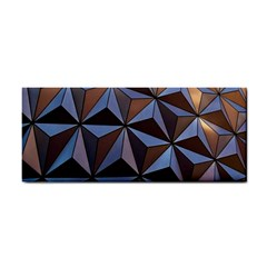 Background Geometric Shapes Cosmetic Storage Cases