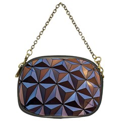 Background Geometric Shapes Chain Purses (one Side)