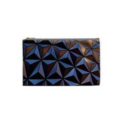 Background Geometric Shapes Cosmetic Bag (Small)