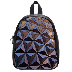 Background Geometric Shapes School Bags (Small)