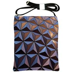 Background Geometric Shapes Shoulder Sling Bags