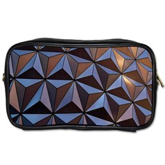 Background Geometric Shapes Toiletries Bags 2-Side