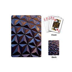 Background Geometric Shapes Playing Cards (Mini)