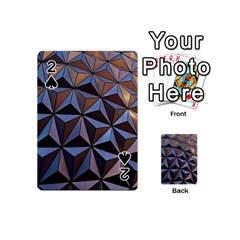 Background Geometric Shapes Playing Cards 54 (Mini)