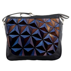 Background Geometric Shapes Messenger Bags