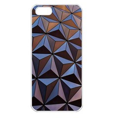 Background Geometric Shapes Apple Iphone 5 Seamless Case (white)