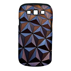 Background Geometric Shapes Samsung Galaxy S III Classic Hardshell Case (PC+Silicone)
