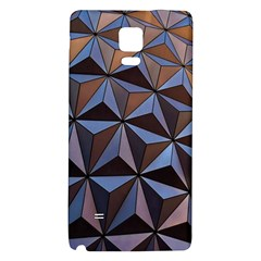 Background Geometric Shapes Galaxy Note 4 Back Case