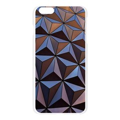 Background Geometric Shapes Apple Seamless iPhone 6 Plus/6S Plus Case (Transparent)