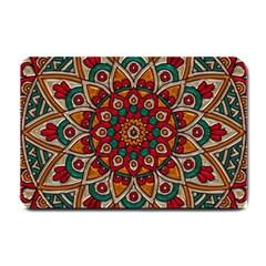 Background Metallizer Pattern Art Small Doormat