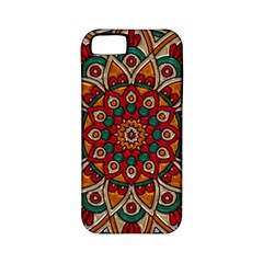 Background Metallizer Pattern Art Apple iPhone 5 Classic Hardshell Case (PC+Silicone)
