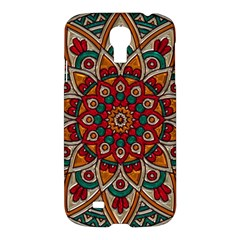 Background Metallizer Pattern Art Samsung Galaxy S4 I9500/i9505 Hardshell Case