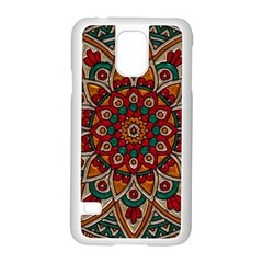 Background Metallizer Pattern Art Samsung Galaxy S5 Case (White)