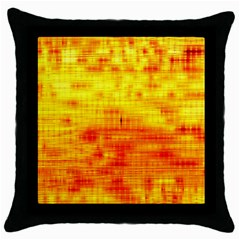 Background Image Abstract Design Throw Pillow Case (Black)