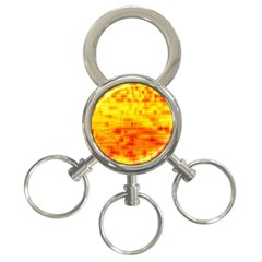 Background Image Abstract Design 3 Ring Key Chains