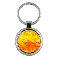Background Image Abstract Design Key Chains (Round)