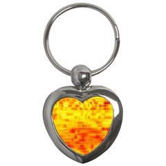 Background Image Abstract Design Key Chains (Heart)