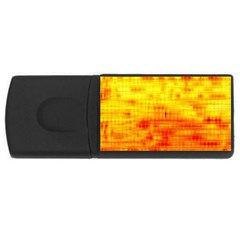 Background Image Abstract Design USB Flash Drive Rectangular (1 GB)
