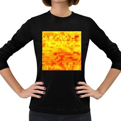 Background Image Abstract Design Women s Long Sleeve Dark T Shirts