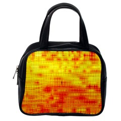 Background Image Abstract Design Classic Handbags (One Side)