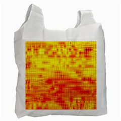 Background Image Abstract Design Recycle Bag (One Side)