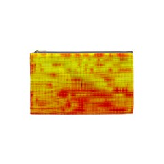 Background Image Abstract Design Cosmetic Bag (Small)