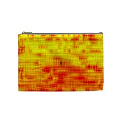 Background Image Abstract Design Cosmetic Bag (Medium)