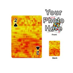 Background Image Abstract Design Playing Cards 54 (Mini)