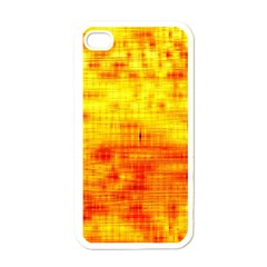 Background Image Abstract Design Apple iPhone 4 Case (White)