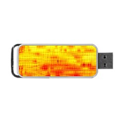 Background Image Abstract Design Portable Usb Flash (one Side)