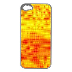 Background Image Abstract Design Apple iPhone 5 Case (Silver)