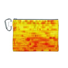 Background Image Abstract Design Canvas Cosmetic Bag (M)