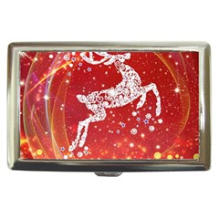 Background Reindeer Christmas Cigarette Money Cases