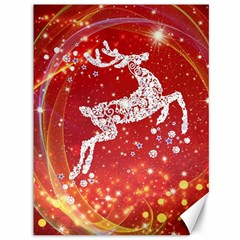 Background Reindeer Christmas Canvas 36  x 48